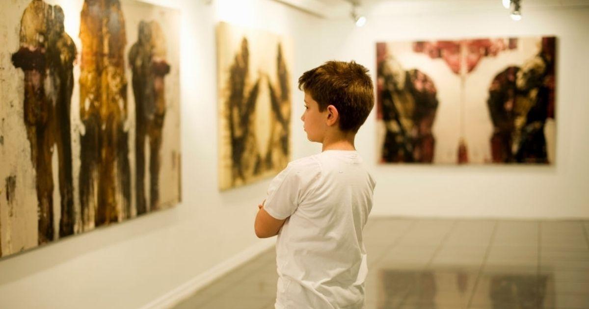 Art is an inspiring element for children.